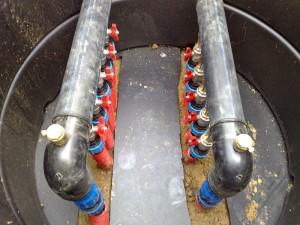 Primer izvedbe toplotne črpalke