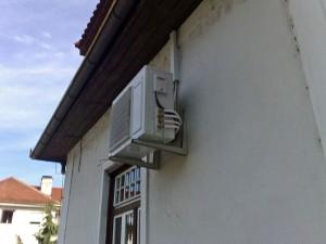 Klimatska naprava na zunanji steni